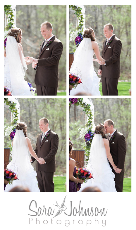 ceremony the kiss collage